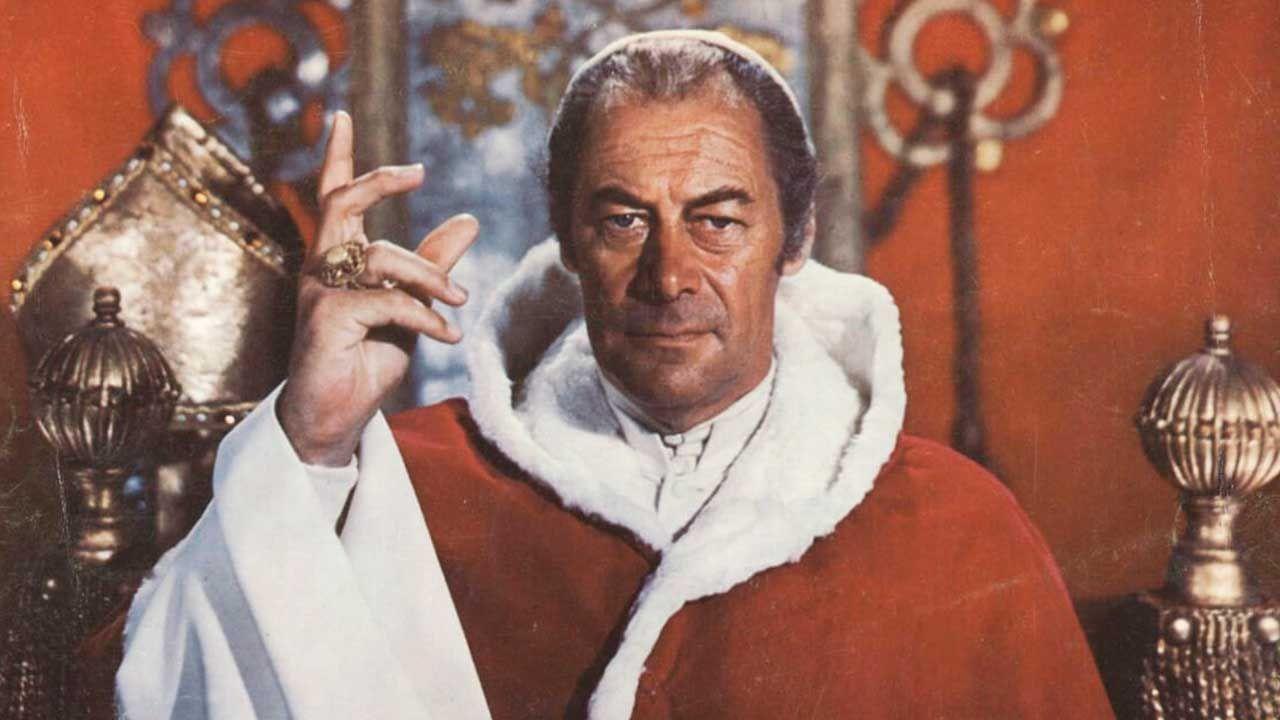 Papa, Los papas más famosos del cine y la tele