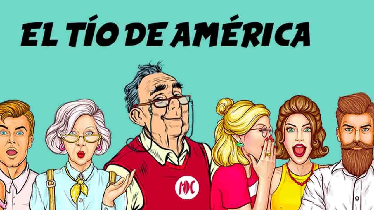 El tío de América dibujo