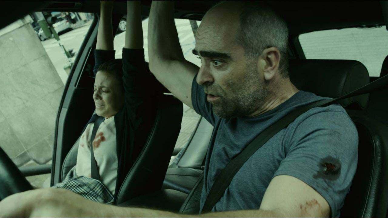 Paula del Río y Luis Tosar en El desconocido