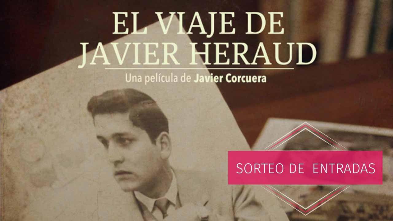 El viaje de Javier Heraud, Sorteo invitaciones para EL VIAJE DE JAVIER HERAUD en Madrid