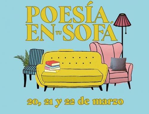 Poesía en tu sofá, una iniciativa para rimar en cuarentena