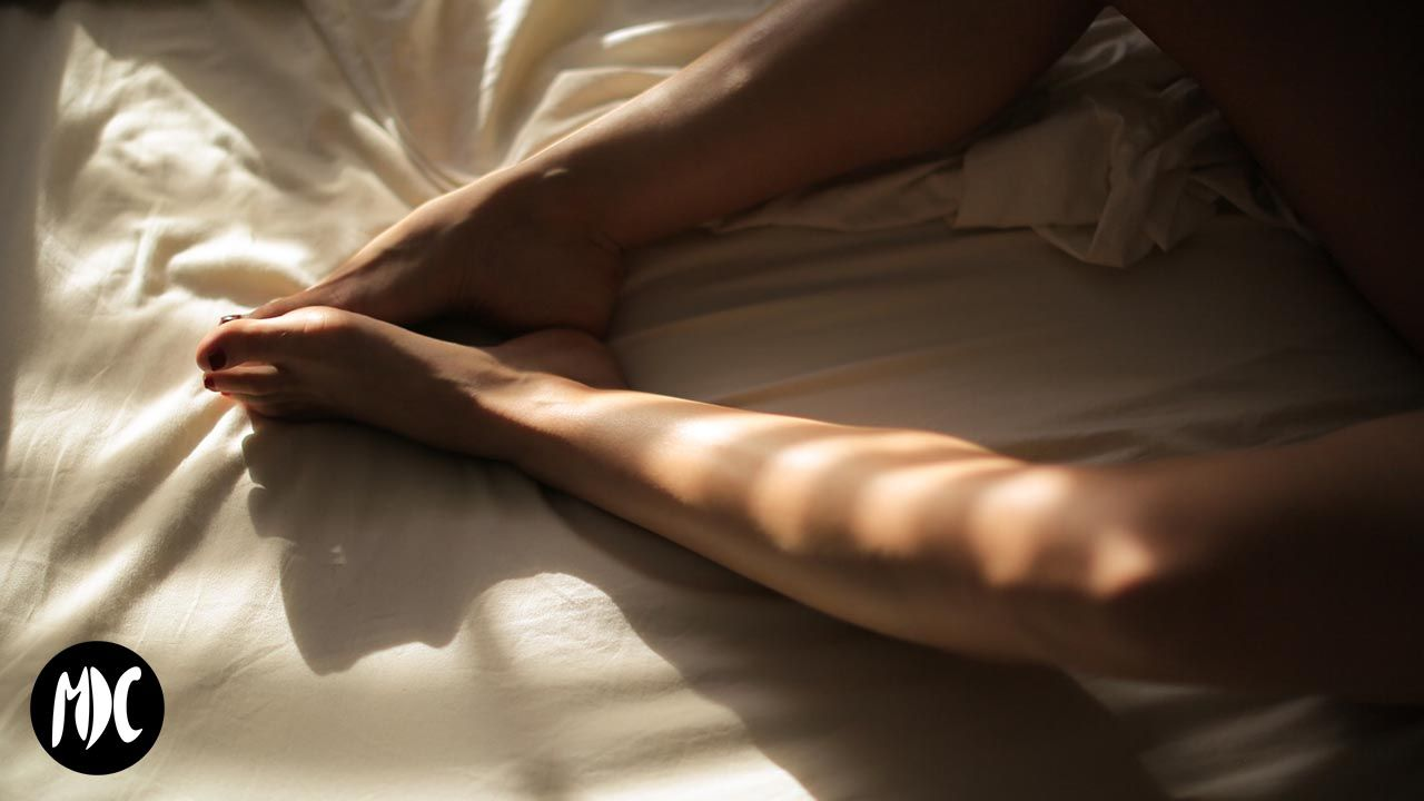 Orgasmo en la cama