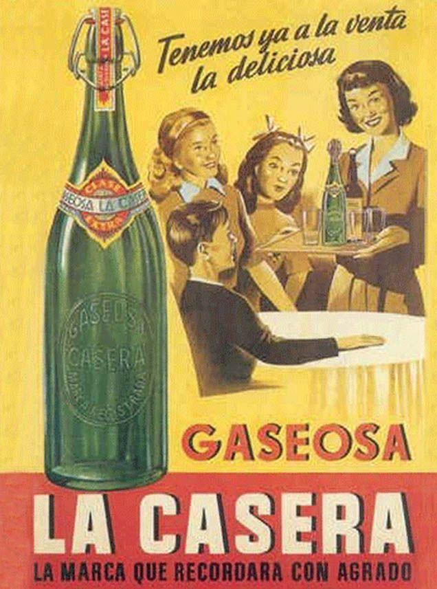 La Casera cartel anuncio