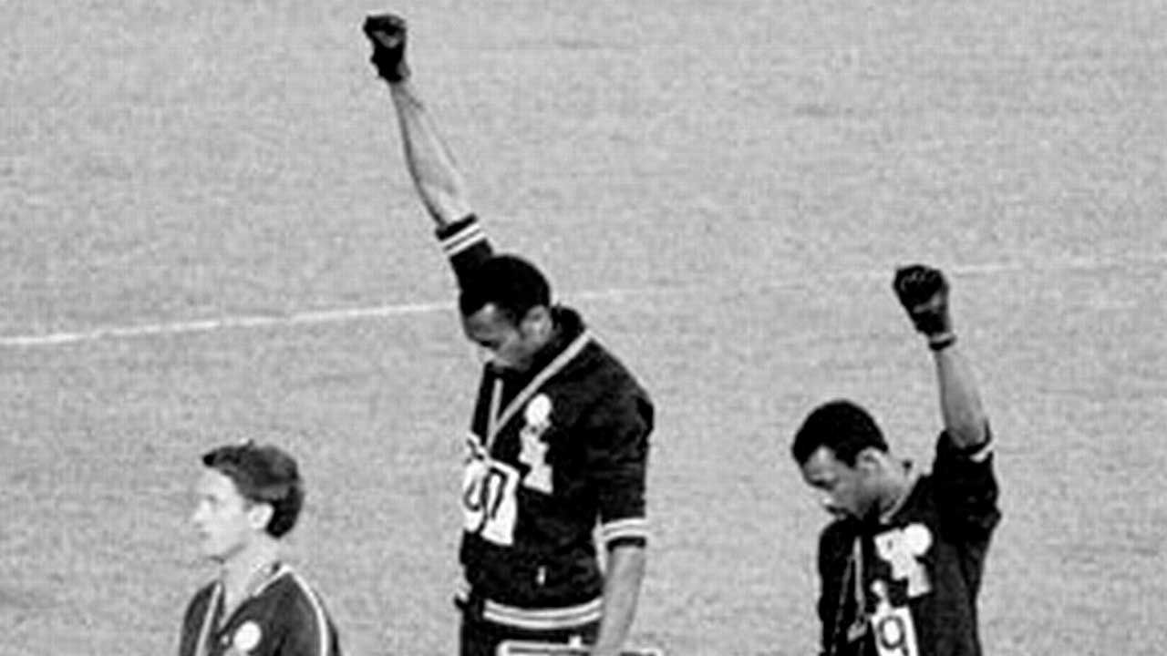 black power Olimpiadas 1968