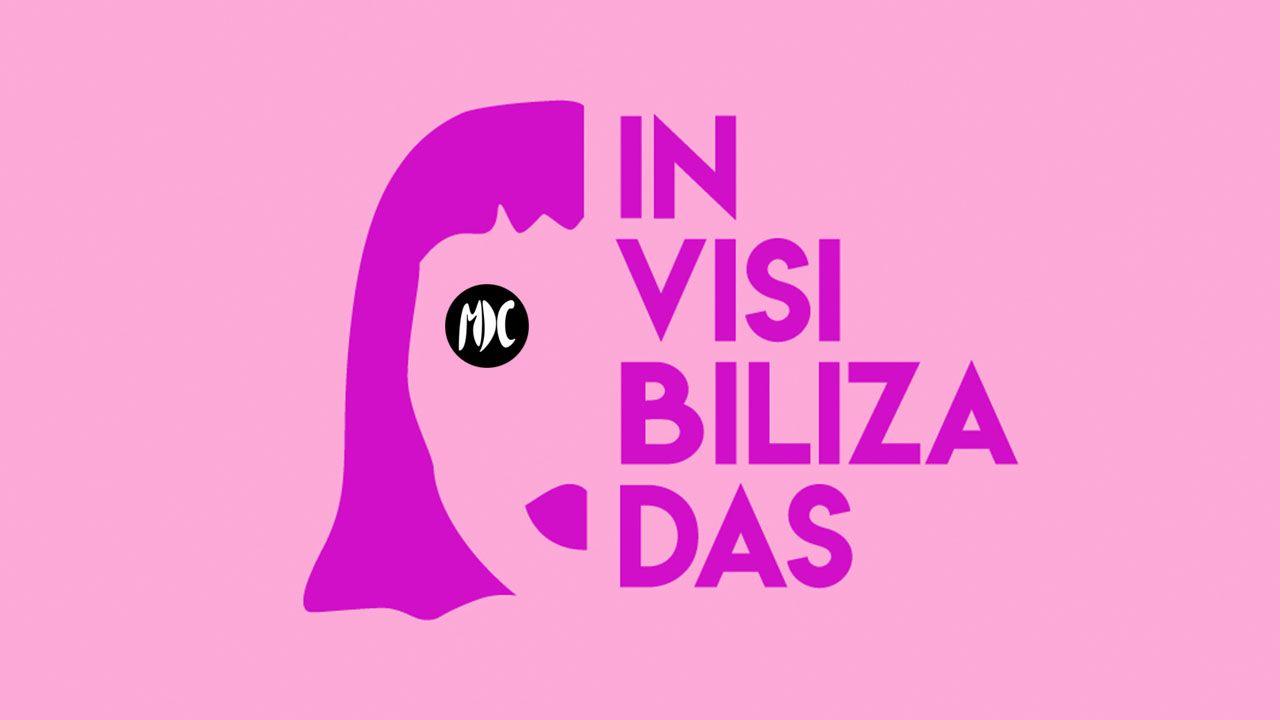 Invisibilizadas logo