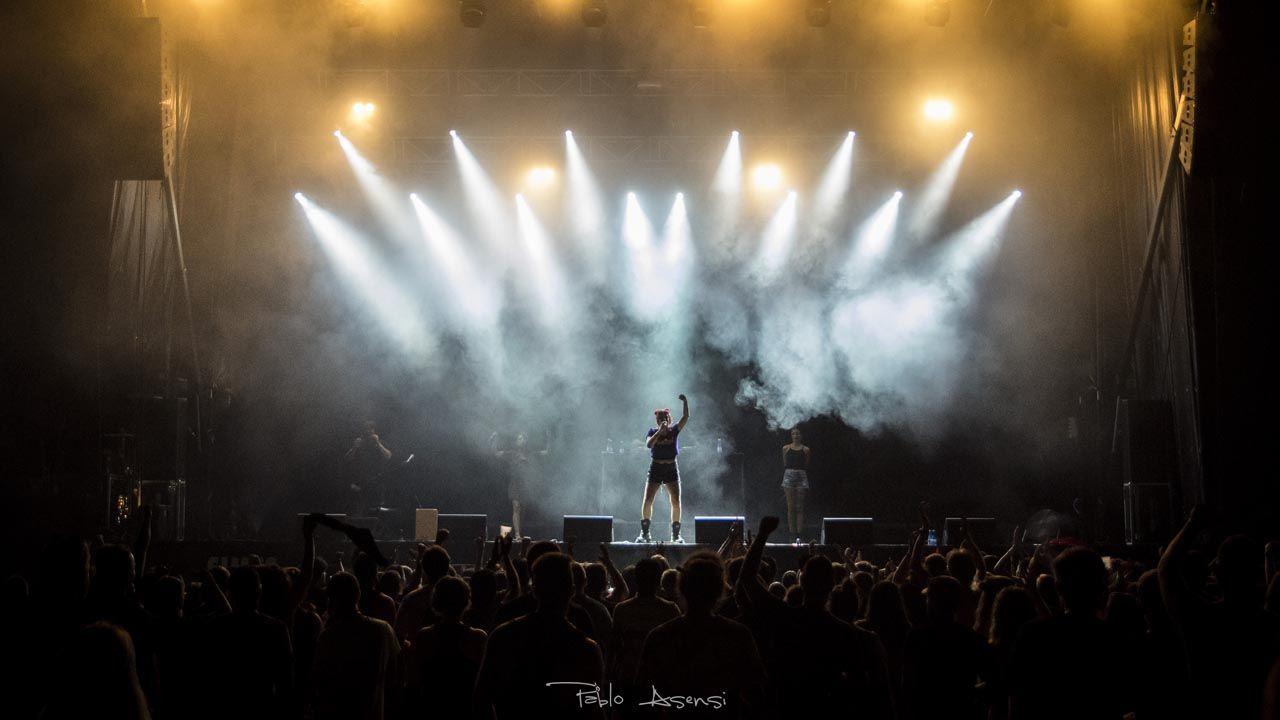 concierto de Tesa Fotografía Pablo Asensi