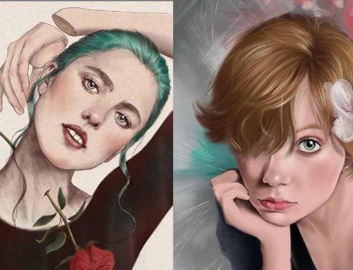 Judilustra: «Los colores son parte de la voz del artista»
