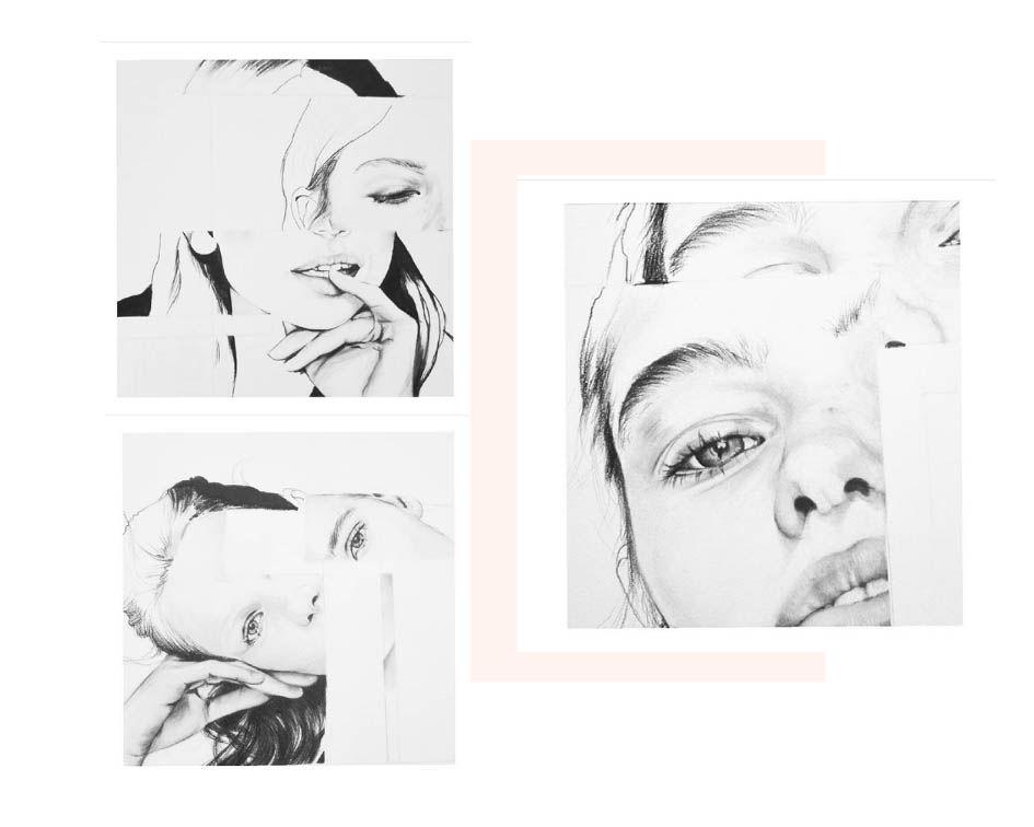 Bocetos de Laura Ray