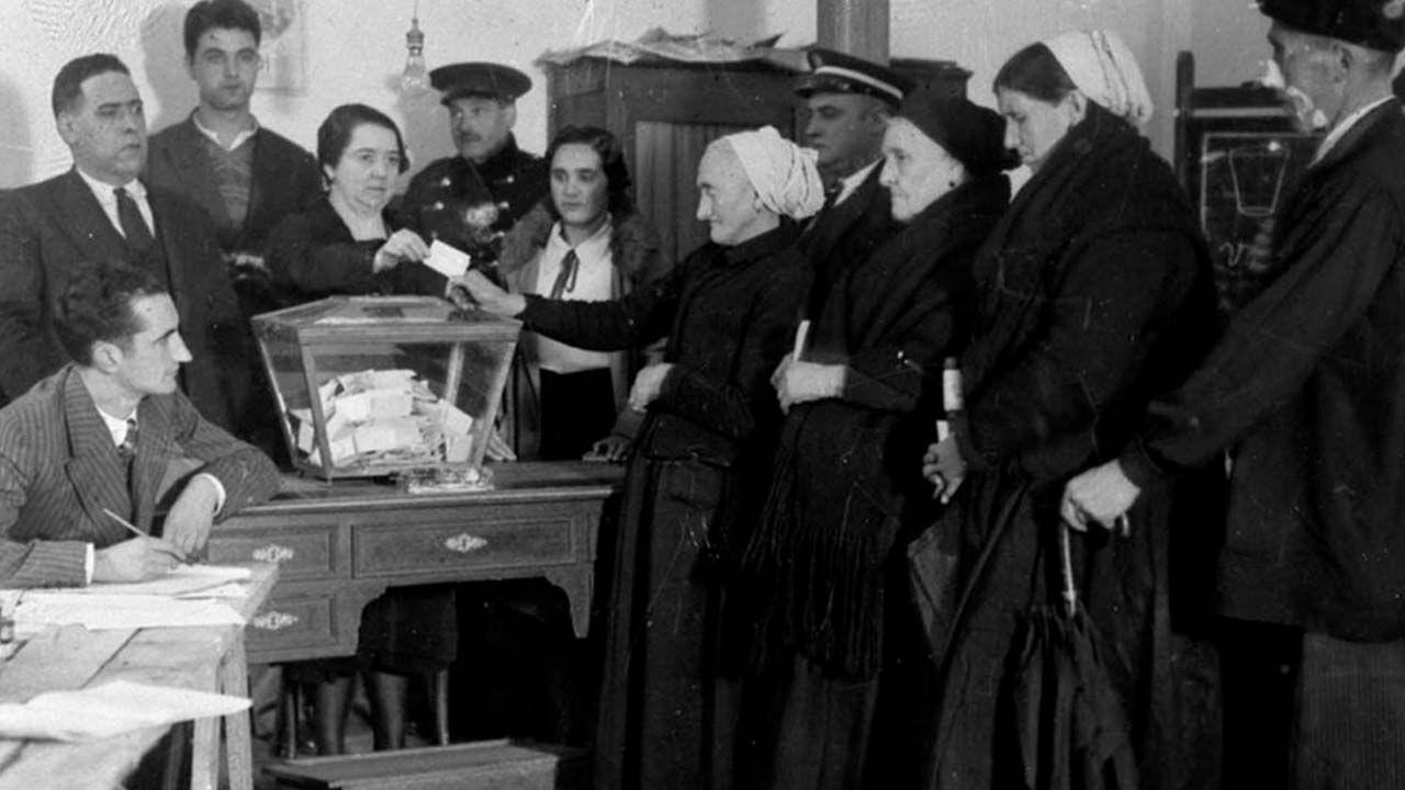 Mujeres voto España Clara Campoamor