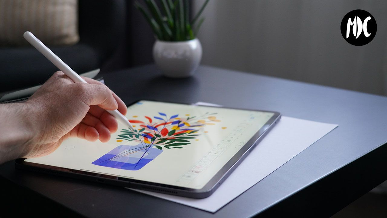 Ipad, Apple Pencil y tableta gráfica