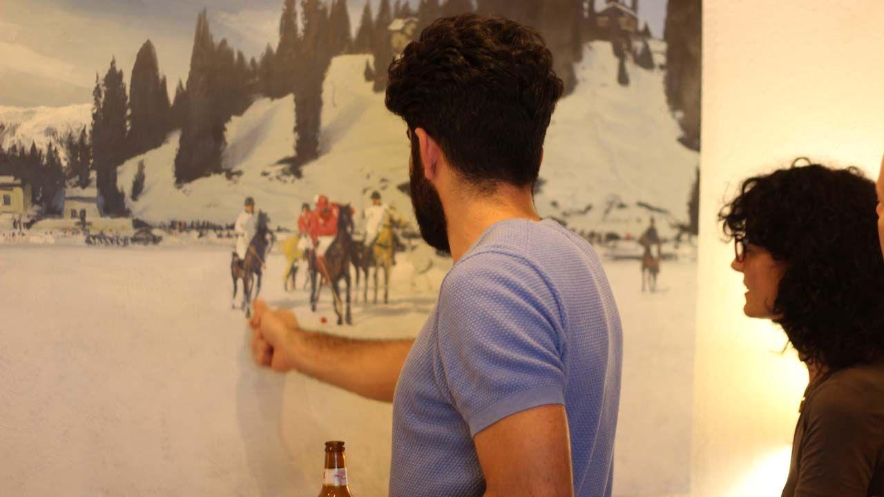 recuerdos en blanco, Recuerdos en blanco, una oportunidad de ver arte de una forma íntima