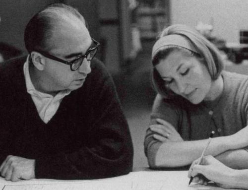Elaine Bass, la diseñadora detrás del «maestro»