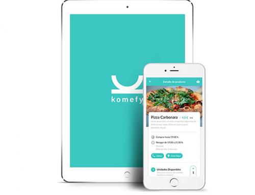 Komefy, una app que pone solución al derroche de alimentos