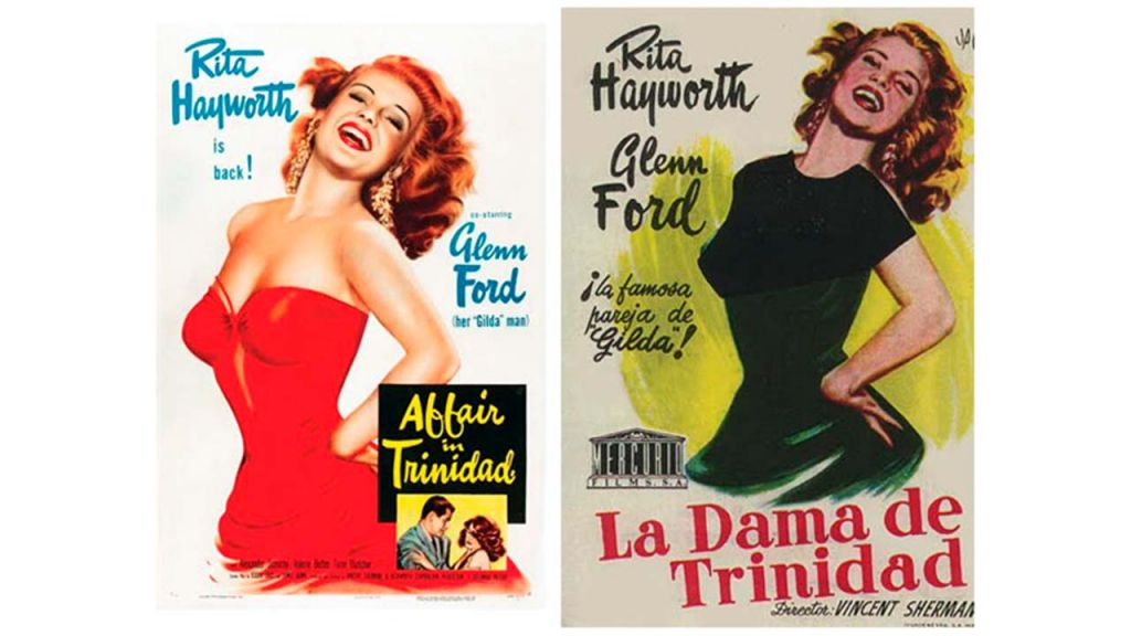Censura carteles cine Dama trinidad