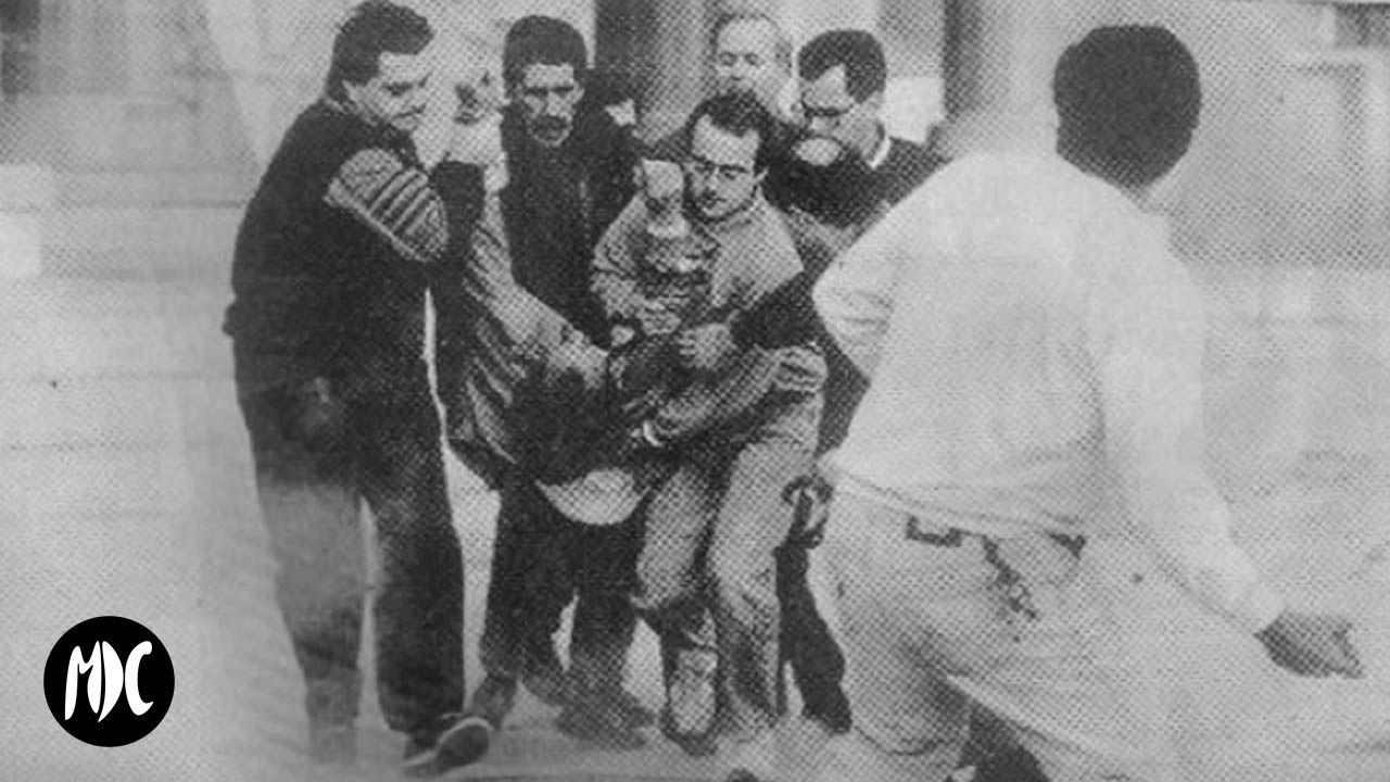 Fotografía de las revueltas obreras en Cartagena en el 92