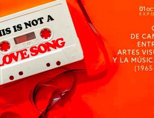 This is not a love song, una exposición a medio camino entre arte y música pop