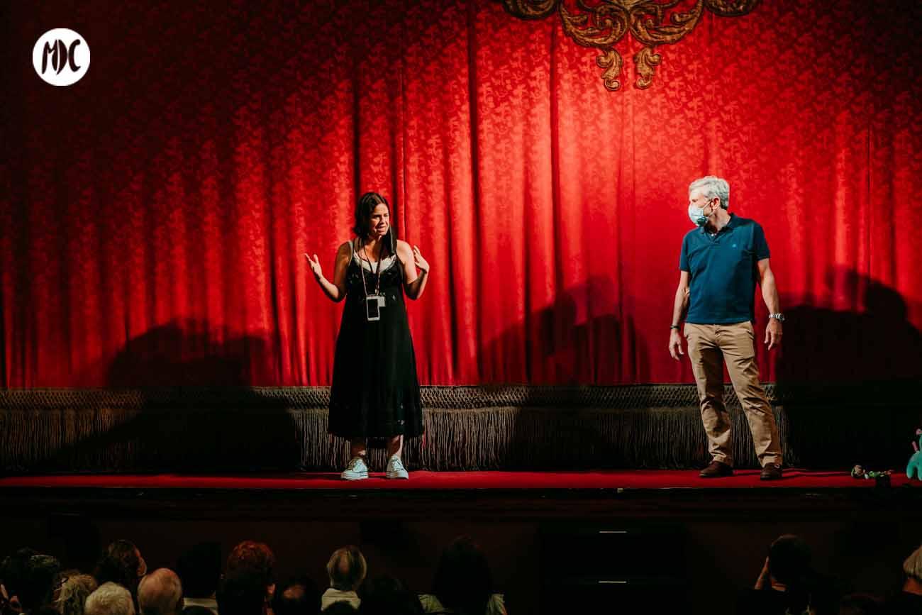 Reapertura de Teatro lara. Fotografía Lucía Romero.