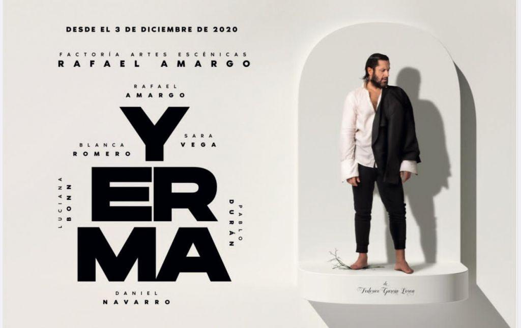 Yerma, Rafael Amargo: «Lorca es un pie para no caerse»