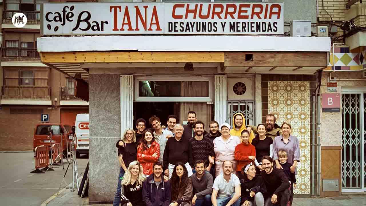 Raúl Liarte, guionista con el equipo dee El año del descubrimiento