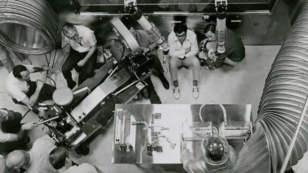 Fotografía del making of de la película