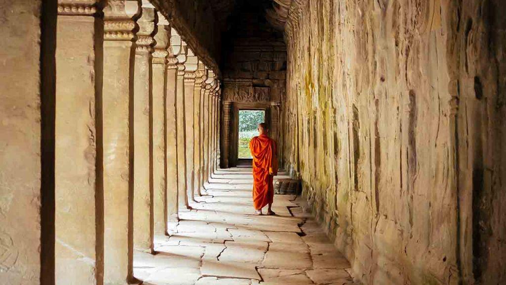 Templo budista Camboya