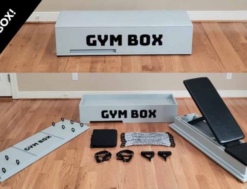 Gym Box: 165 ejercicios sin salir de casa y en una caja que cabe en el armario
