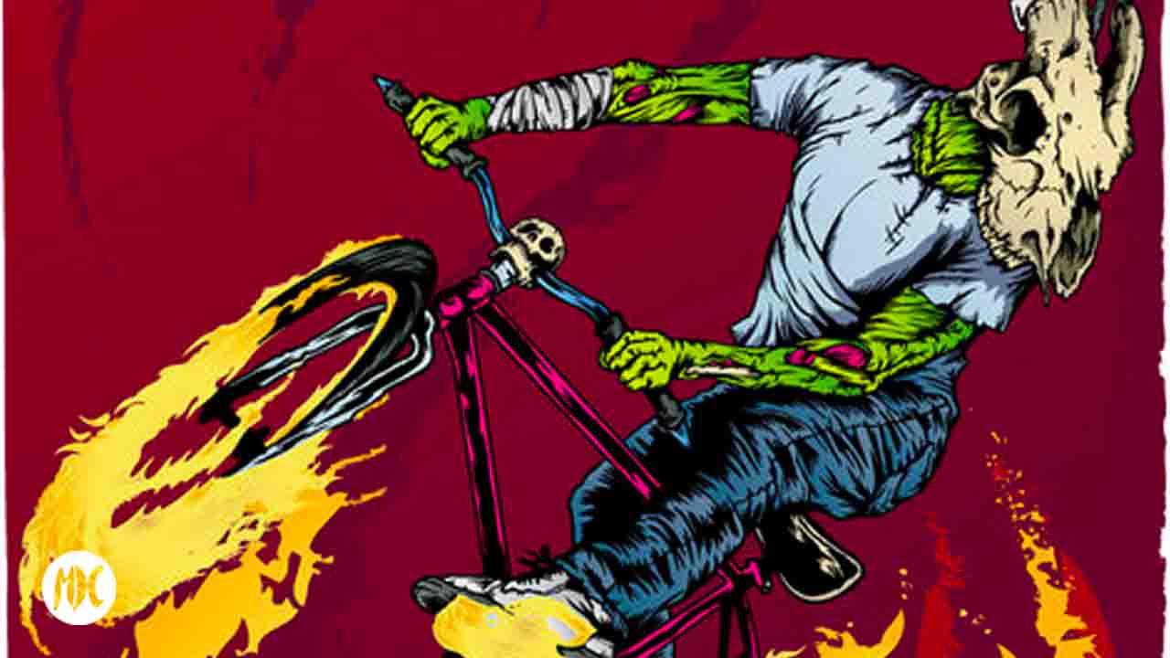 Marcos Cabrera, Marcos Cabrera, zombies y monstruos ilustrados