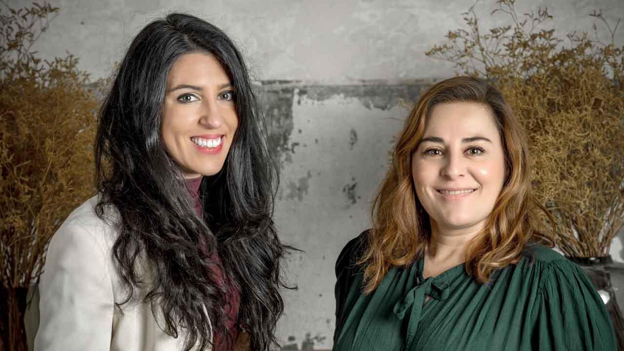 Alba R Santos e Inma Cuevas, fotografía David Ruíz.