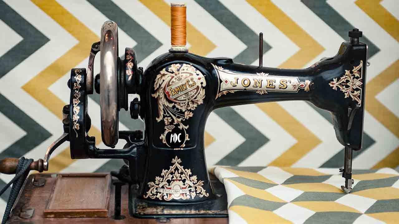 Máquina de coser vintage