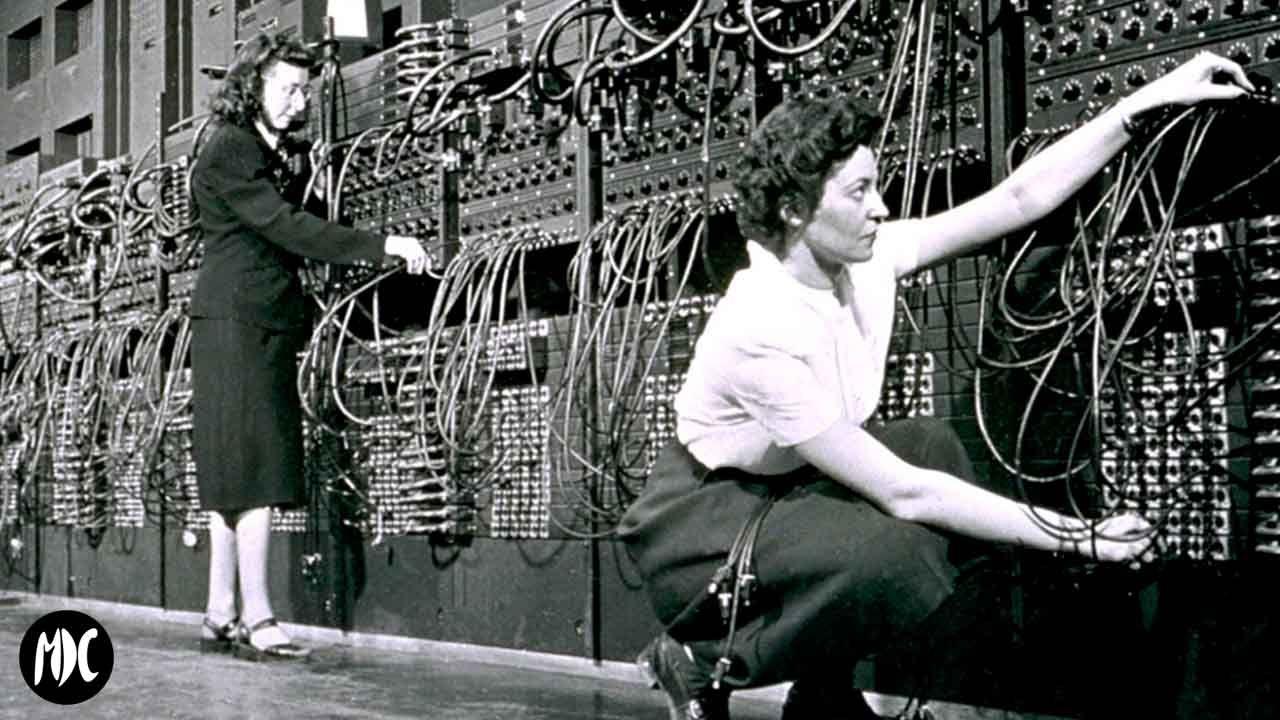 Programadoras ENIAC trabajando
