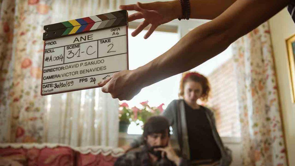Fotografía del rodaje de Ane (2020)