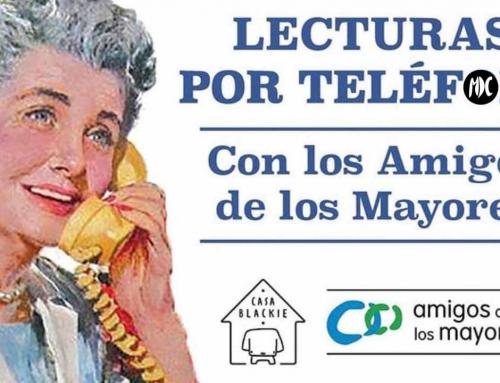 Lecturas por teléfono, un voluntariado para acompañar a las personas mayores