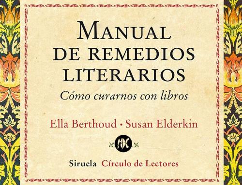 Manual de remedios literarios, un libro para cada dolencia