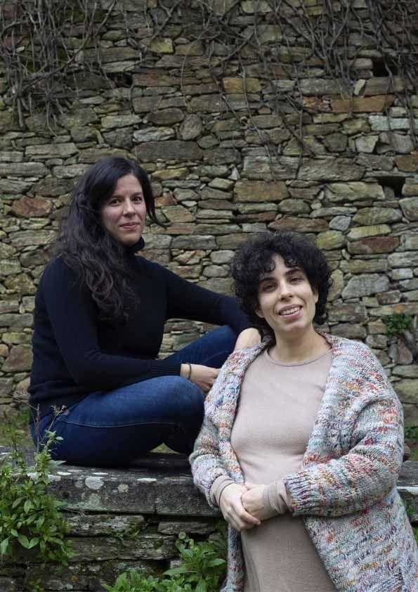 Sabela Iglesias y Adriana P Villanueva, directoras de Negro Púrpura.
