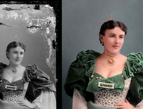 Mario Unger, el artista digital que restaura fotografías antiguas