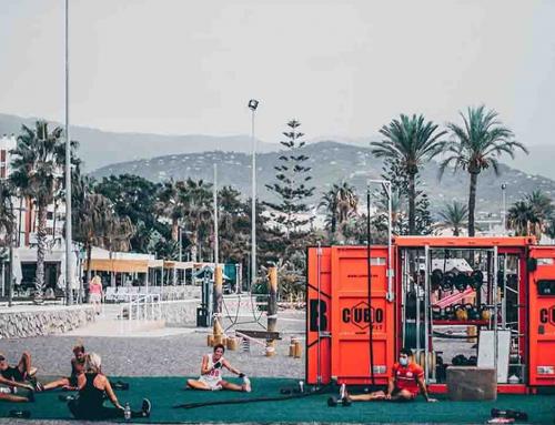 CuboFit: gimnasios portátiles para hacer ejercicio al aire libre